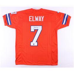 John Elway Signed Denver Broncos Jersey (JSA COA  John Elway Hologram)