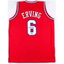 Julius Erving Signed Philadelphia 76ers Jersey (JSA COA)