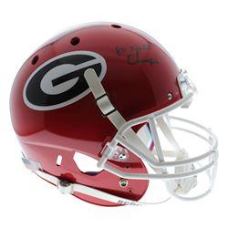 "Herschel Walker Signed Georgia Bulldogs Full-Size Helmet Inscribed ""80 Nat'l Champs"" (Sports Collect"
