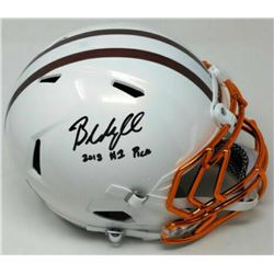 Baker Mayfield Signed Limited Edition Cleveland Browns Full-Size Authentic On-Field Speed Helmet Ins