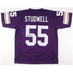 Scott Studwell Signed Minnesota Vikings Jersey (JSA Hologram)