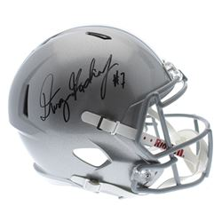 Dwayne Haskins Signed Ohio State Buckeyes Full-Size Helmet (Sports Collectibles Hologram)