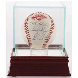 "Nolan Ryan Signed Official 1994 World Series Baseball Inscribed ""1969 World Series Champions"" (JSA C"