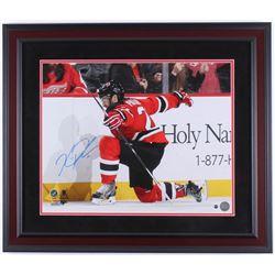Kyle Palmieri Signed New Jersey Devils 23x27 Custom Framed Photo Display (Steiner Hologram)