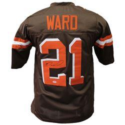 Denzel Ward Signed Cleveland Browns Jersey (PSA Hologram)