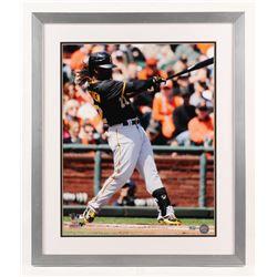 Andrew McCutchen Signed Pittsburgh Pirates 22x26 Custom Framed Photo Display (MLB Hologram)