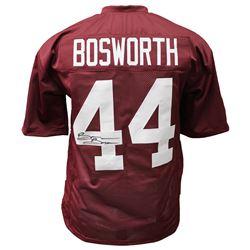 Brian Bosworth Signed Oklahoma Sooners Jersey (JSA COA)