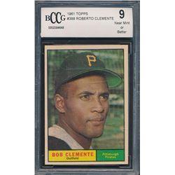 1961 Topps #388 Roberto Clemente (BCCG 9)