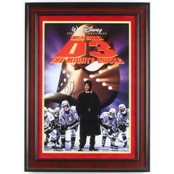 "Joshua Jackson Signed ""D3: The Mighty Ducks"" 12x17 Custom Framed Poster (PSA COA)"