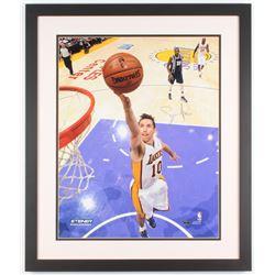 Steve Nash Signed Los Angeles Lakers 22x26 Custom Framed Photo (Steiner COA)