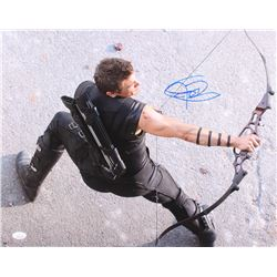 "Jeremy Renner Signed ""The Avengers"" 16x20 Photo (JSA COA)"