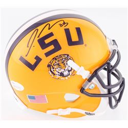Jamal Adams Signed LSU Tigers Mini Helmet (JSA COA)
