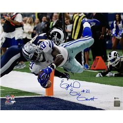 Ezekiel Elliott Signed Dallas Cowboys 16x20 Photo (Beckett COA)