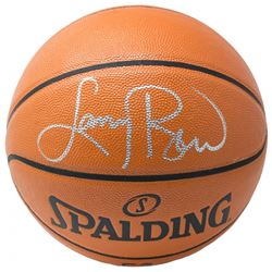 Larry Bird Signed NBA Game Ball Series Basketball (Beckett COA)