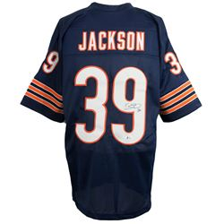 Eddie Jackson Signed Chicago Bears Jersey (Beckett COA)