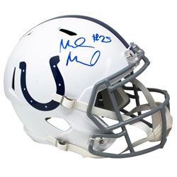 Marlon Mack Signed Indianapolis Colts Full Size Speed Helmet (JSA COA)