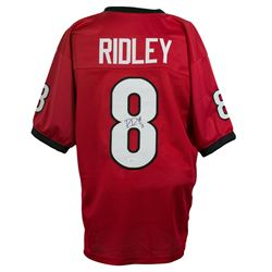 Riley Ridley Signed Georgia Bulldogs Jersey (JSA COA)