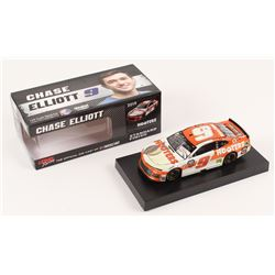Chase Elliott Signed 2019 NASCAR #9 Hooters - 1:24 Premium Action Diecast Car (Chase Elliott COA)
