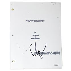 "Adam Sandler Signed ""Happy Gilmore"" Movie Script (JSA COA)"