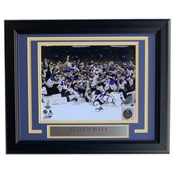 St. Louis Blues 2019 Stanley Cup Championship 11x14 Custom Framed Photo Display