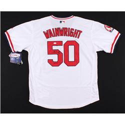 "Adam Wainwright Signed St. Louis Cardinals Jersey Inscribed ""Waind"" (JSA COA)"