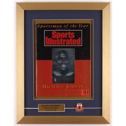 "Michael Jordan ""Sportsman of the Year"" 14x18 Custom Framed Magazine Display"