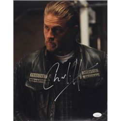 """Charlie Hunnam Signed """"Sons of Anarchy"""" 11x14 Photo (JSA COA)"""