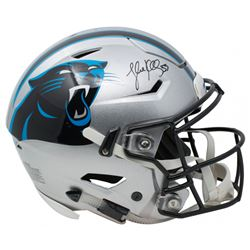 Luke Kuechly Signed Carolina Panthers Riddell Full-Size Authentic On-Field SpeedFlex Helmet (Beckett