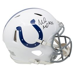 Marlon Mack Signed Indianapolis Colts Full Size Authentic On-Field Speed Helmet (Beckett COA)