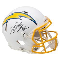 Joey Bosa Signed Los Angeles Full-Size Authentic On-Field Speed Helmet (Beckett COA)
