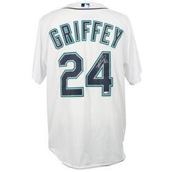 "Ken Griffey Jr. Signed Seattle Mariners Majestic Jersey Inscribed ""HOF 16"" (TriStar Hologram)"