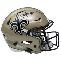 Alvin Kamara Signed New Orleans Saints Full-Size Authentic On-Field Speed Flex Helmet (JSA COA)