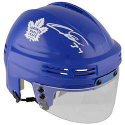 Auston Matthews Signed Toronto Maple Leafs Mini Helmet (Fanatics Hologram)
