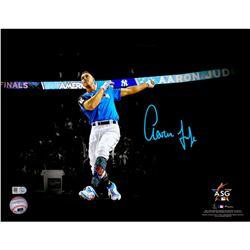 "Aaron Judge Signed New York Yankees 11x14 ""2017 Home Run Derby"" Photo (Fanatics Hologram  MLB Hologr"