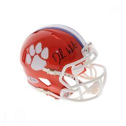 Deshaun Watson Signed Clemson Tigers Speed Mini Helmet (Beckett Hologram)