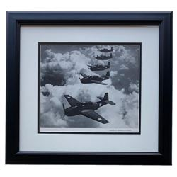 """Echelon Of Grumman"" 16x17 Custom Framed Photo Display"