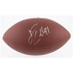 Jamie Collins Signed NFL Football (JSA COA)