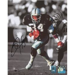 Bo Jackson Signed Los Angeles Raiders 8x10 Photo (Jackson Hologram)