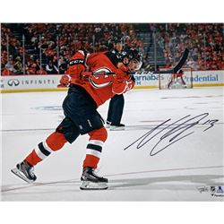 Nico Hischier Signed New Jersey Devils 16x20 Photo (Fanatics Hologram)