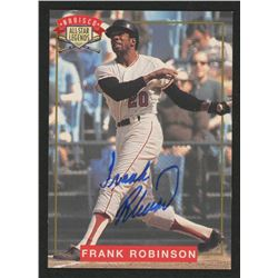 Frank Robinson Signed 1994 Nabisco All-Star Autographs #3 (JSA COA)