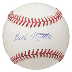 Bill Miller Signed OAL Baseball (Beckett COA)