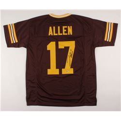 Josh Allen Signed Wyoming Cowboys Jersey (Beckett COA)