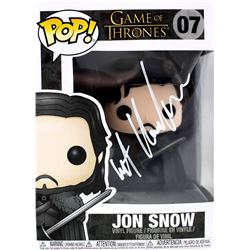 "Kit Harington Signed ""Game of Thrones"" #7 Jon Snow Funko Pop Figure (Radtke COA)"
