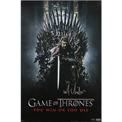 "Kit Harington Signed ""Game of Thrones"" 24x36 Poster (Radtke COA)"