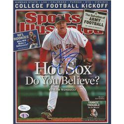Curt Schilling Signed Boston Red Sox 8x10 Photo (JSA COA  Sure Shot Promotions Hologram)