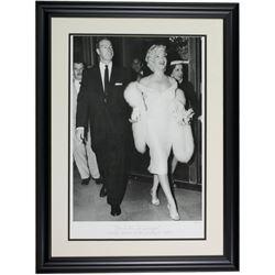 The Hulton Archive - Marilyn Monroe  Joe DiMaggio Limited Edition 24x29 Custom Framed Fine Art Gicle
