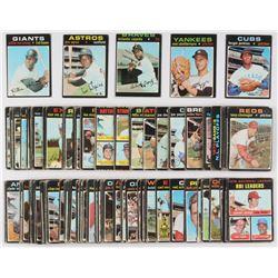 Lot of (150+) 1971 Topps Baseball Cards with #280 Ferguson Jenkins, #605 Orlando Cepeda, #565 Jim Wy
