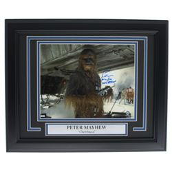 """Peter Mayhe Signed """"Star Wars: Empire Strikes Back"""" 11x14 Custom Framed Photo Display Inscribed """"Che"""