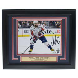 Alexander Ovechkin Signed Washington Capitals 11x14 Custom Framed Photo Display (Fanatics Hologram)