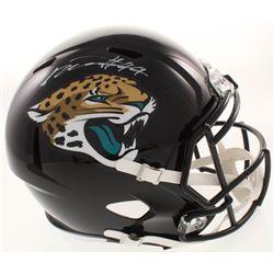 Myles Jack Signed Jacksonville Jaguars Full-Size Speed Helmet (Radtke COA)
